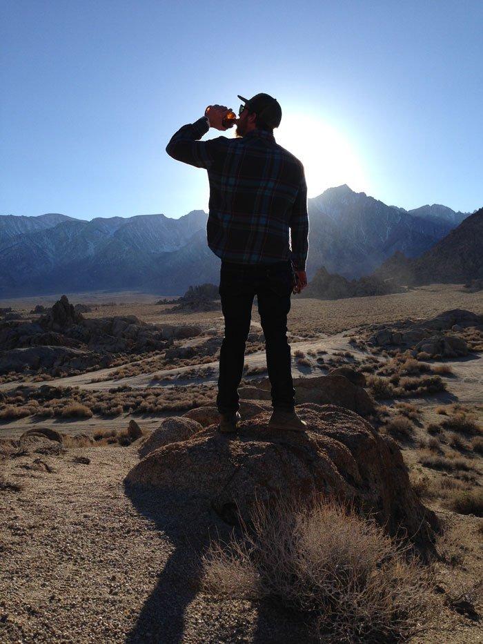 To the Sierra Nevadas
