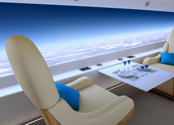 A Plane Where Every Seat Has a Window  - ABC News