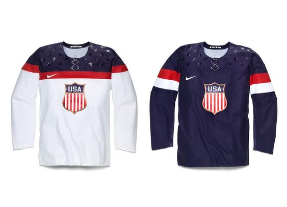 The Friday 5: Hockey Jerseys Better than 2014 Team USA : 101 or Less
