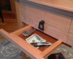 Gun Concealment End Table   StashVault