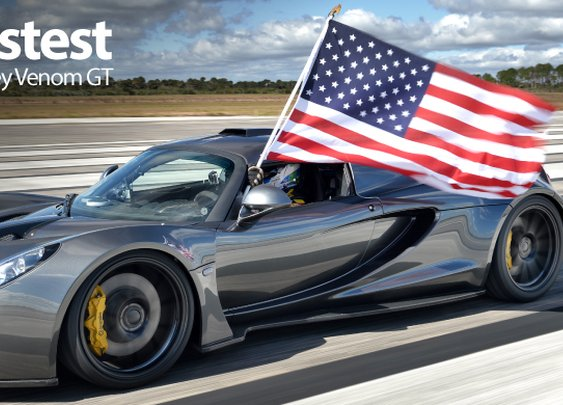 Hennessey Venom GT World Record