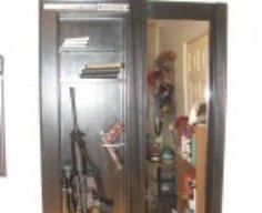 Secret Gun Cabinet Behind Mirror   StashVault