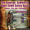 The Symmetry Open Comb Safety Razor