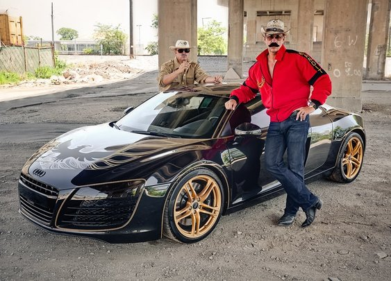 Smokey and the Bandit Edition Audi R8