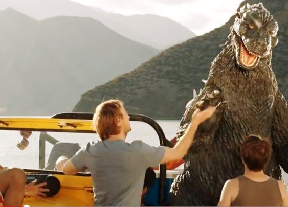 Oh No, Godzilla! : 101 or Less