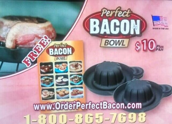 Love bacon? Need a bowl?: 101orless