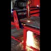 """4x8 Burn Table flame cutting 1 1/2"""" thick metal - YouTube"""
