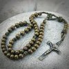 Multicam Military Style Paracord Rosary