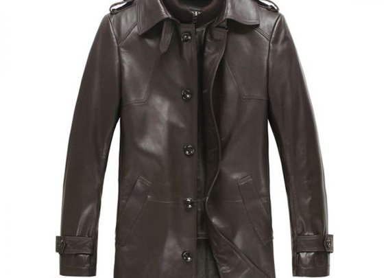 Leather Trench Coat | Gentlemint