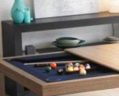 Pool Table Hidden in Kitchen Table   StashVault
