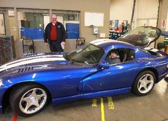 SPSCC ordered to crush rare Dodge Viper   Local News   The Olympian