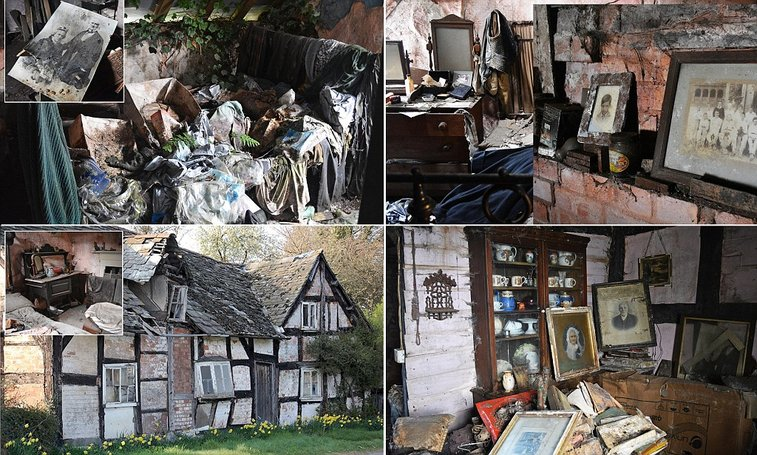 Inside The Haunted Old Crow Cottage In Willersley Herefordshire