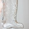 Glass Boot Beer Mug  Vintage Mug Country Western by MollyFinds