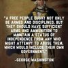 A true patriot that came from an oppresive government.