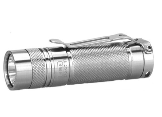 Best EDC Flashlight 2014 - Eagletac D25 Clicky Titanium - Best Tactical Flashlight Guide
