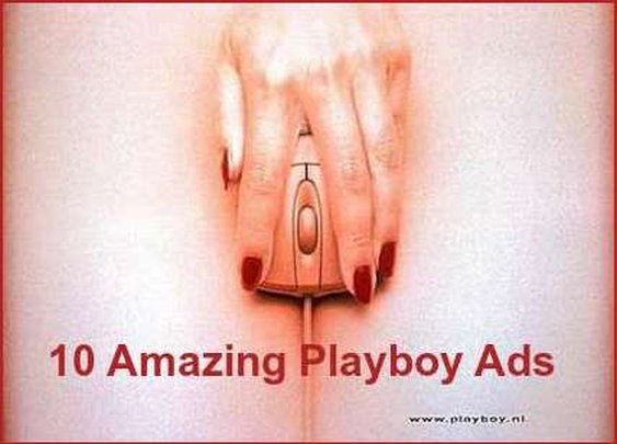 Playboy Ads - Selling Naked From All Over