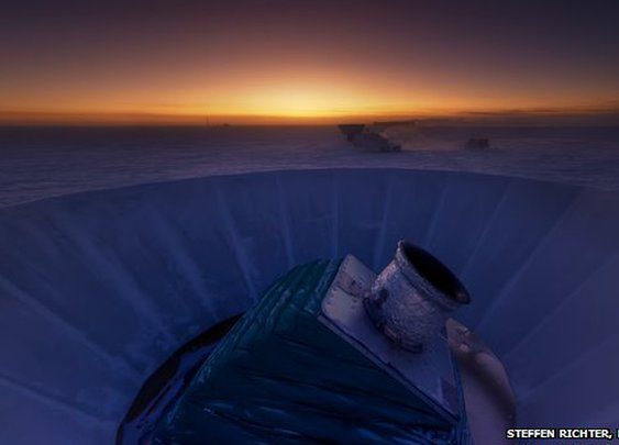 BBC Cosmic inflation: 'Spectacular' discovery hailed