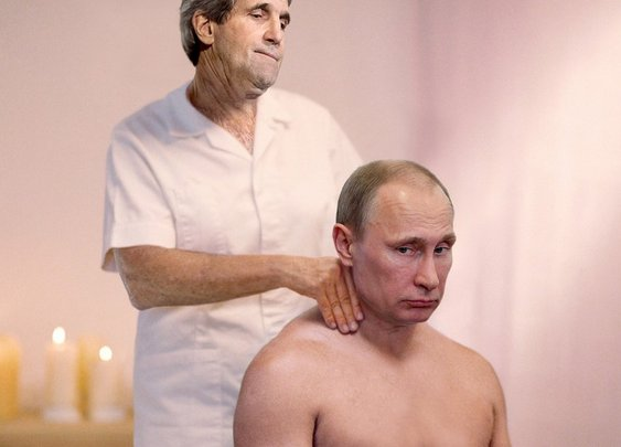 John Kerry Poses As Masseuse To Get Few Minutes With Putin | The Onion - America's Finest News Source