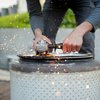 DIY Urban Fire-pit made from Washing Machine Drum | Cool Material
