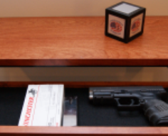 Modern Floating Wall Shelf with Hidden Drawer   StashVault