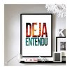 "Brand New - 'Deja Entendu' - 11""x17"" wall art"