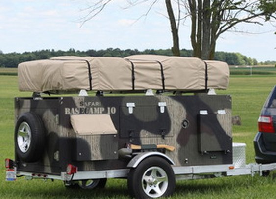 Homebuilt Camper Trailer