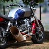 Triumph Motorcycle  Packs A Helicopter Turbine Engine