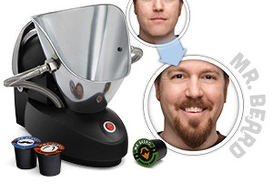 ThinkGeek :: Mr. Beard® Beard Machine