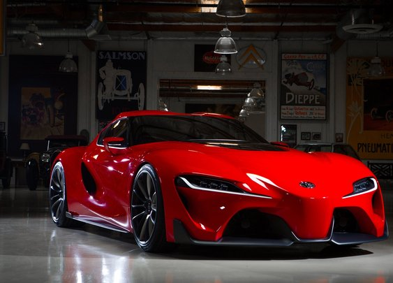 Toyota FT-1 Concept - Jay Leno's Garage - YouTube