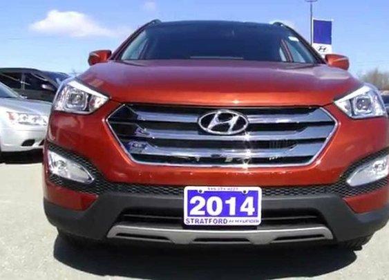 2014 Hyundai Santa Fe Sport   Limited   Video Tour