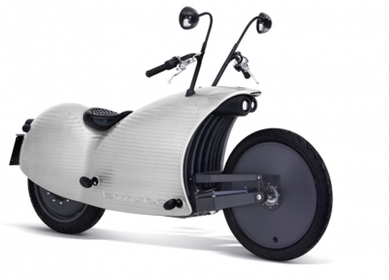 Johammer electric motorcycle breaks 200 km range, looks like you're riding a terrified snail