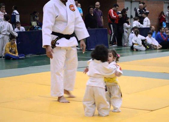 MUST. STOP. THE. CUTENESS! Little Kids Judo