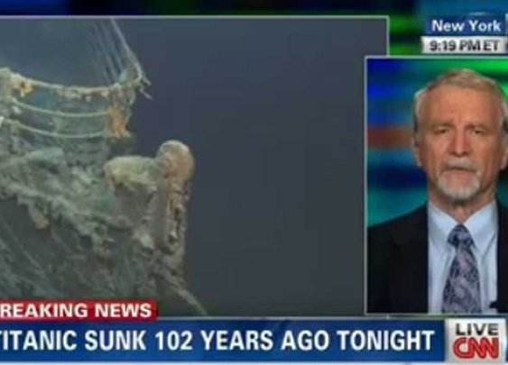 CNN 'Breaking News' For Titanic Sinking - Business Insider