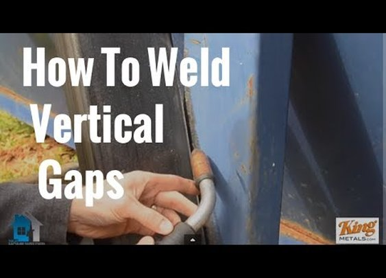 """How To Weld Vertical Gaps Using The """"Downhill"""" Technique"""