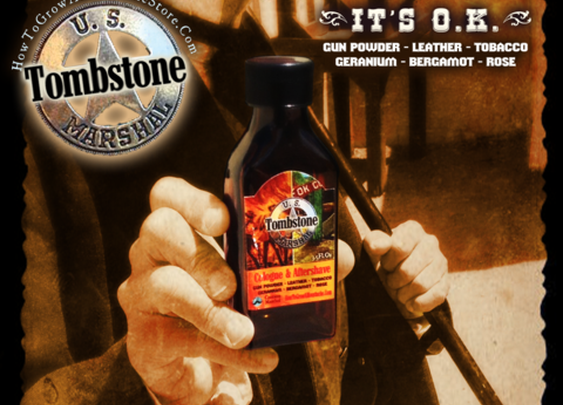 Tombstone Cologne/Aftershave - W/ Alum & Menthol on Wanelo