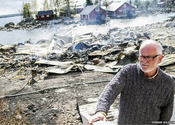 Sweden fire turns cans of rotten fish into exploding missiles