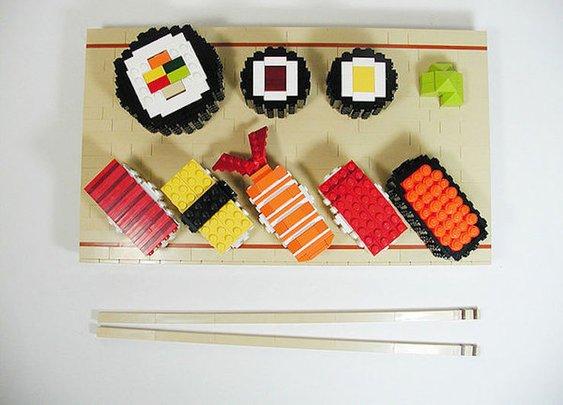 This LEGO Sushi Looks Delicious