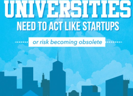 Why Universities Need to Be Run Like Startups... Or Risk Becoming Obsolete