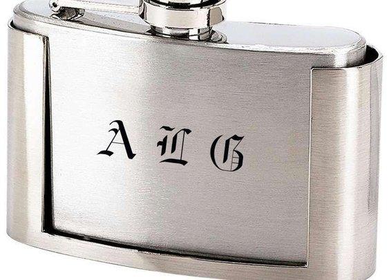 3oz Belt Buckle Flask