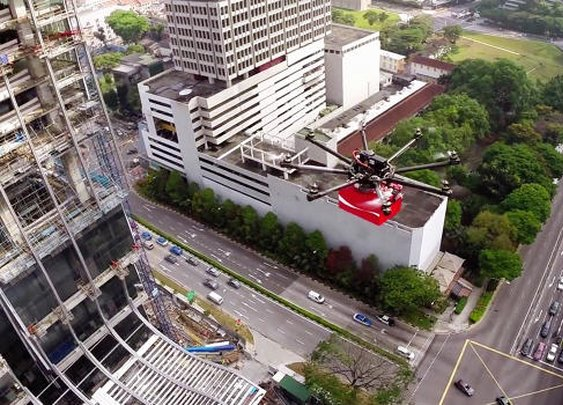 Coke Uses Drones To Deliver Refreshment To Singapore's Migrant Workers | Co.Create | creativity + culture + commerce