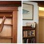 DIY Hidden Pivot Bookcase - FULL STEP BY STEP PICTURE HELP - SHTF Preparedness