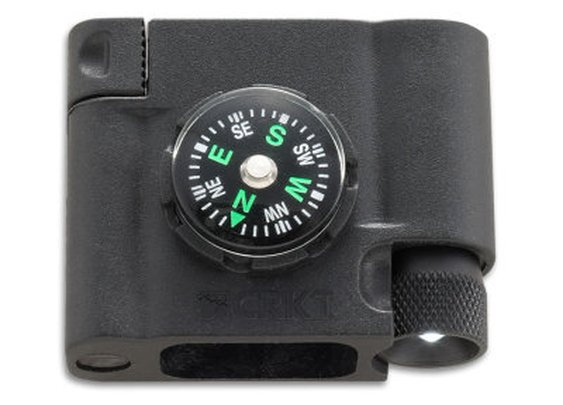 Survival Bracelet Accessory - Compass, LED, and Firestarter - CRKTStore