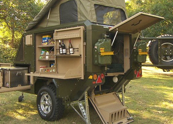 Best small camp trailer ever - UEV-440 | Conqueror Australia