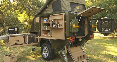 Best small camp trailer ever - UEV-440   Conqueror Australia