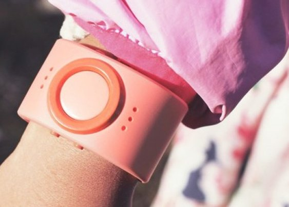 Tinitell straps a mobile phone on kids' wrists