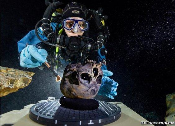 BBC News - Sunken body clue to American origins