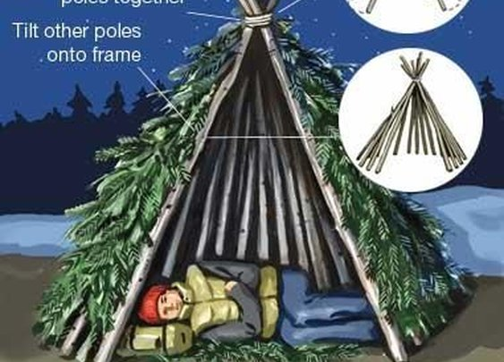 7 Primitive Survival Shelters - Craft Like This