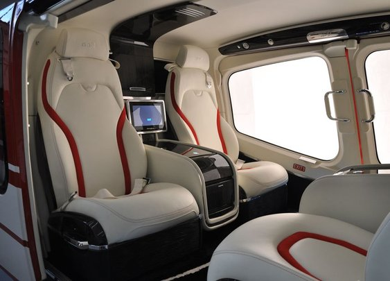Bell displays newest luxury interior for Bell 429 at EBACE