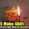 5 Make-Shift Urban Survival Lights When the Electricity Goes Down - SHTF Preparedness
