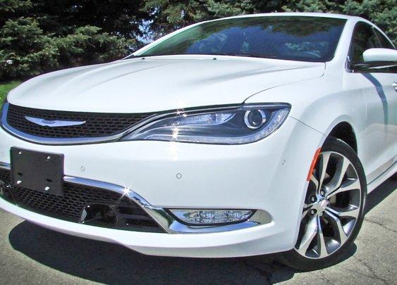 Completely redesigned 2015 Chrysler 200 C   Full Video Tour
